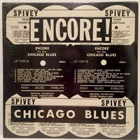 ENCORE for the CHICAGO BLUES - ORIGINAL RECORDINGS - SPIVEY SEALED VINYL LP 1009