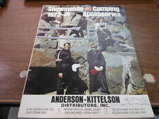 1973 -74 Anderson-Kittleson Snowmobile and Camping Accessories Catalog