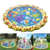 Kinder Pool Pad Garten Splash Pad Sprinkler Play Matte Sommer Wasserspielzeug