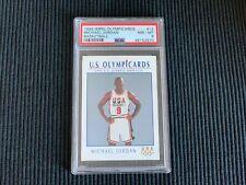 1992/93 SKYBOX IMPEL OLYMPICARDS #12 MICHAEL JORDAN *USA PSA 8 NM-MT*  BULLS
