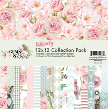 Uniquely Creative 12x12 Cardstock 210gsm Gums & Roses Collection