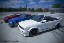 M Tech II Side Skirts For BMW E30 Cabrio Sideskirt Flaps Add On