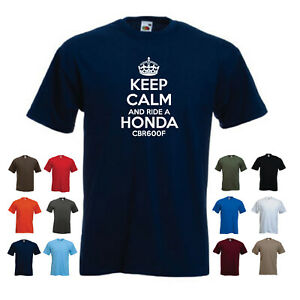 'Keep Calm and Ride a Honda CBR600F' Men's Motorbike Motorcycle Funny T-shirt