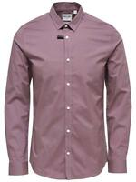 Only & Sons Men's Wistful Mauve Long sleeve Formal Shirt