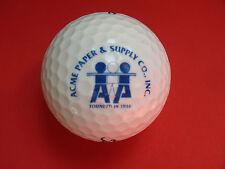 Pelota de golf con logo-Acme Paper-golf logotipo Ball como talismán recuerdo regalo