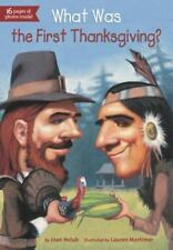 What Was the First Thanksgiving? by Joan Holub (2013, Paperback)