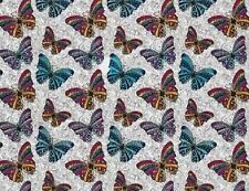 HYDROGRAPHIC WATER TRANSFER HYDRODIPPING FILM HYDRO DIP BUTTERFLY 2 1SQ