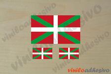 PEGATINA STICKER VINILO Bandera Ikurriña flag autocollant aufkleber adesivi