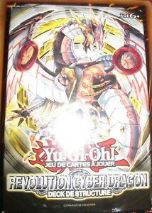 YU-GI-OH! DECK NEUF SCELLE FRANCAIS REVOLUTION CYBER DRAGON NOVA DECK
