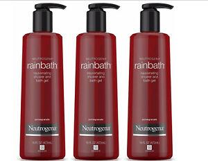 Neutrogena Rainbath Rejuvenating Shower And Bath Gel, Pomegranate 16 oz (3 pack)
