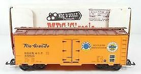 MDC G4601 G Scale Rio Grande & SP Reefer Car LN/Box