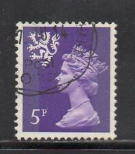 SG S20 5p Reddish Violet Scotland Machin - Fine Used