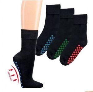 2  Paar Antirutschsocken ABS Socken Noppensocke Stoppersocken Fliesenflitzer
