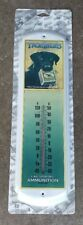 peters ammunition cartridges advertising sign thermometer true blue.hunting sign