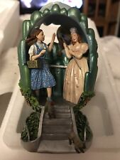 "Wizard of Oz Franklin Mint Collectible Egg Glinda ""Click Your Heels"" 1999"