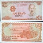 VIETNAM billete nuevo de 200 DONG Pick100 1987 tractor cosecha