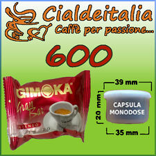 600 capsule caffè GIMOKA Gran Bar - Comp. Lavazza Espr.Point - SPEDIZIONE GRATIS
