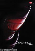 1006KI Kia Sephia Zubehör Prospekt 1993 10/93 deutsche Ausgabe brochure broschyr