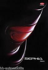Kia Sephia Zubehör Prospekt 10/93 brochure 1993 Autoprospekt Broschüre Auto PKWs