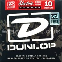 Dunlop Electric Guitar Strings Medium Gauge .010 - .046