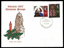 Gibraltar First Day Cover Stamps