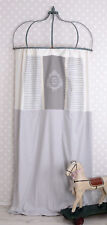Curtain Opaque Blind Shabby Chic Curtain Vintage  Tunnel Top Vintage Lace