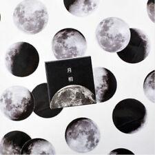 45Pcs Cute Creative Moon Mini Pape Stickers DIY Diary Scrapbooking Decor Craft
