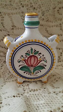 Small Hand Painted Sloakian Vase White With Ak Pezinok