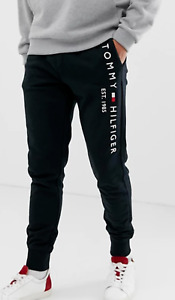 Tommy Hilfiger Embroidered Logo Cuffed Trackies Sweatpants - Skinny fit