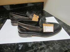 Kenneth Cole Reaction Mens Size 42/US9 leather black with brown edges bulk sampl
