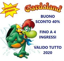 GARDALAND Buono Sconto 40% Coupon Fino a 4 Ingressi! Valido Tutto 2020