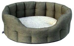 Heavy Duty Premium Oval Basket Weave Softee Dog Beds