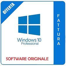 Windows 10 Professional Pro 32/64 bit - Fatturabile - Originale