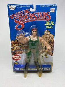 WWF LJN Wrestling Superstars Corporal Kirchner wrestling figure 1985 MOC Rare!