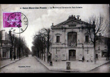 SAINT-MAUR-DES-FOSSES (94) ENFANT avec VOITURE à PEDALE au THEATRE animé en 1932