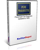 Pere Marquette Passenger Car Diagrams - PDF on CD - RailfanDepot