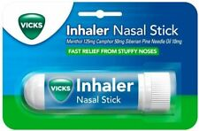 Vicks Inhaler Nasal Stick Menthol Camphor Fast Relief From Stuffy Noses - 0.5ML