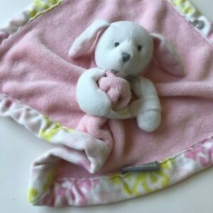 Blankets And Beyond Puppy Dog Plush Baby Girl  Security Blanket  Birthday Gift