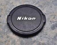 Retro Genuine Nikon NIKKOR 62mm Snap-on Front Lens Cap Japan (#2906)