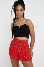 URBAN OUTFITTERS Ditsy Floral Button-Through Beach Shorts size XS NEW #33