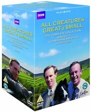 ALL CREATURES GREAT AND SMALL 1-7 1978-1990 COMPLETE TV Series NEW UK DVD not US