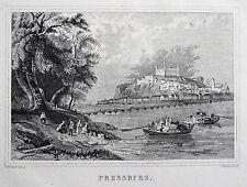Original 1800-1899 Grafik & Drucke mit Landschaft und Lithographie