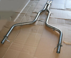 """2.5"""" Straight Pipe Kit Catback Exhaust Fits 08-14 Mercedes Benz W204 C300 C350"""