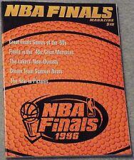 NBA FINALS MAGAZINE 1996 ~ Chicago Bulls / Utah Jazz / Orlando Magic ~ JORDAN!