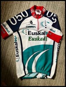 Euskatel Eskadi cycling vintage cycling jersey medium Etxe-Ondo