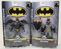 Lot Of 2 Mattel DC Comics Batman Missions 80 Year Anniversary Action Figure Toy