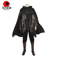 DFYM Star Wars The Last Jedi Cosplay Luke Skywalker Cloak Halloween Cape