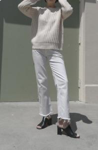 Rachel Comey Slim Legion Jeans - Off White Size 6 US / Medium