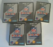 1993 Fleer NFL FACT football cards Set 2 Stay Fit