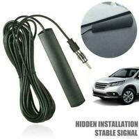 Hidden Antenna Radio Stereo AM FM Stealth For Car Motorcycle Boat Truck Veh Y5I4